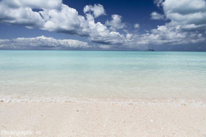 Dramatic skies over Barbuda