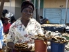 Selling the wares in Zambia