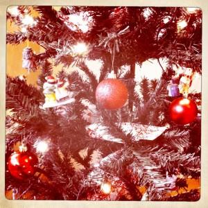 Christmas tree with Hipstamatic Kamal Mark II