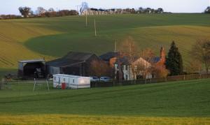Farmland in Hadstock