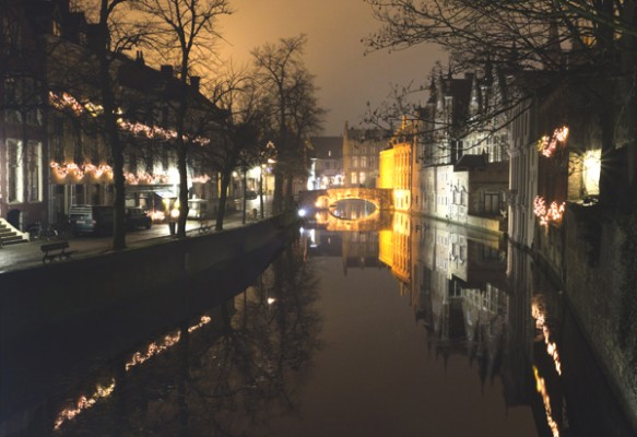 In Bruges at the Canal