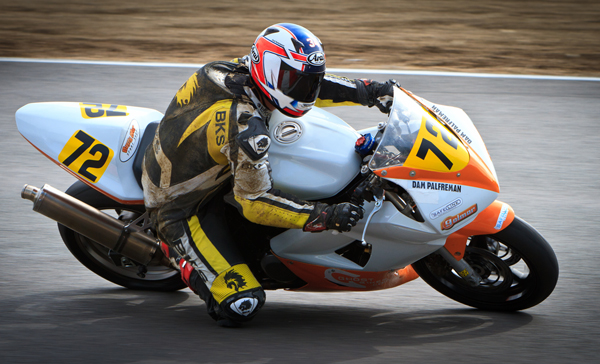 Adam Palfreman at the Thundersport Bike Championships